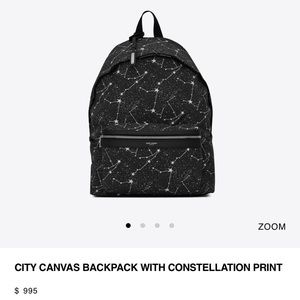 NWT saint laurent constellation backpack authentic